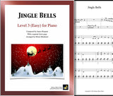 Jingle Bells Level 3 - Cover sheet & 1st page