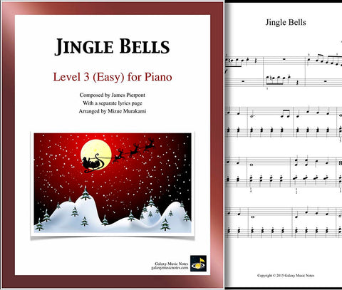 Jingle Bells: Level 3 - cover sheet