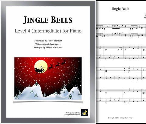 Jingle Bells Level 4 - Cover sheet & 1st page