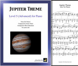 Jupiter Theme Level 5 - Cover sheet & 1st page