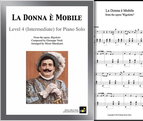 La Donna e Mobile: Level 4 - cover sheet