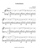 Liebestraume Level 3 - 1st piano music sheet