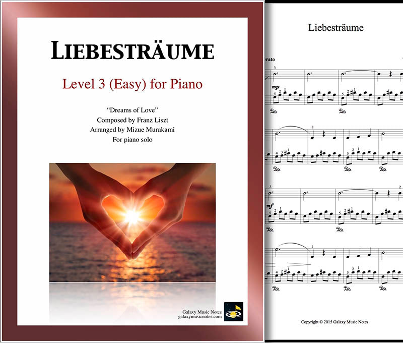 Liebestraume Level 3 - Cover & 1st page