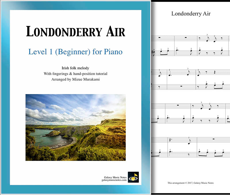 Londonderry Air Level 1 - Cover sheet & 1st page