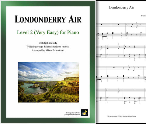 Londonderry Air Level 2 - Cover sheet & 1st page