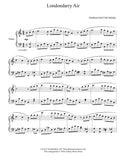 Londonderry Air: Level 4 - Piano sheet music - page 1