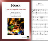 March | Nutcracker | Level 3 - Cover sheet & 1st page