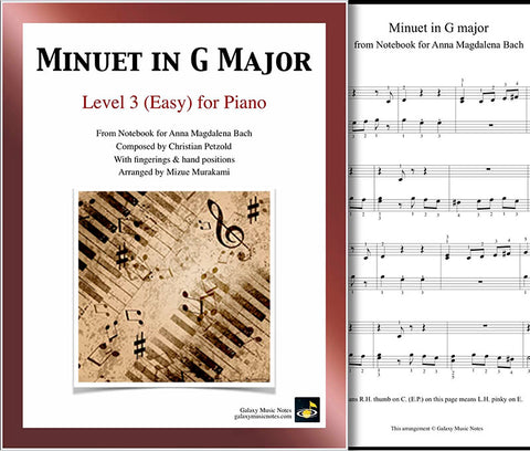 Minuet in G Major: Level 3
