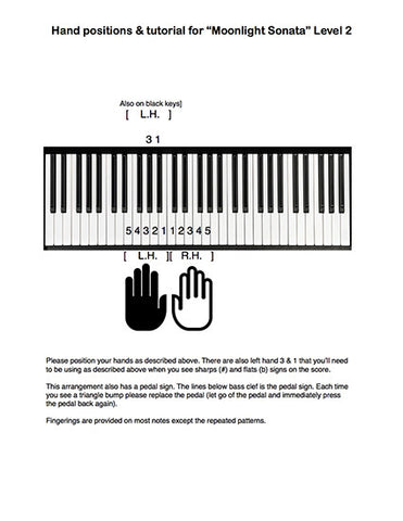 Moonlight Sonata: 1st MVMT | Level 2 - Tutorial page