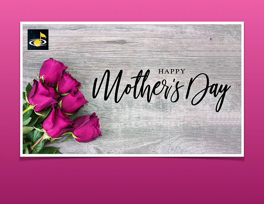 eGift Card: Mother's Day from Galaxy Music notes