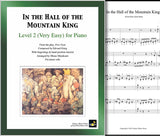In the Hall of the Mountain King Level 2 - Cover & 1st page