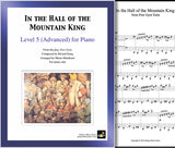 In the Hall of the Mountain King Level 5 - Cover & 1st page