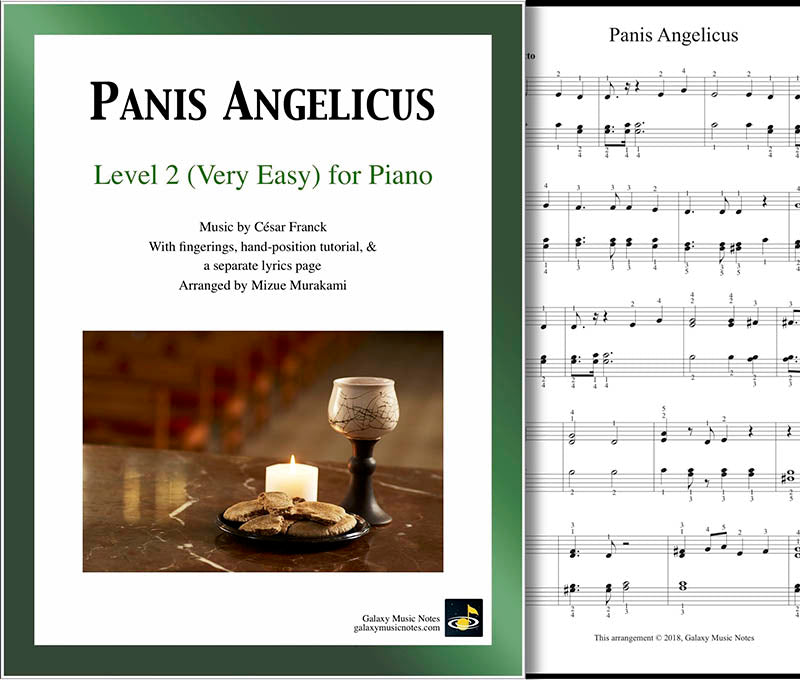 Panis Angelicus Level 2 - Cover sheet & 1st page