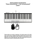 Piano Concerto No. 1 - 1st MVMT Level 1 - Tutorial page