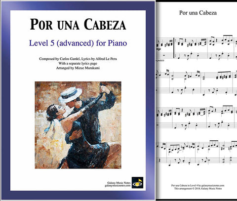Por una Cabeza Level 5 - Cover & Partial 1st page