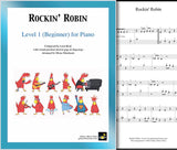 Rockin' Robin Level 1 - Cover sheet & 1st page