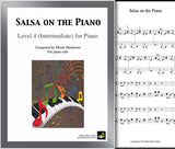 Salsa on the Piano Level 4 - Cover & 1st page