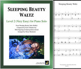 Sleeping Beauty Waltz Level 2 - Cover sheet & 1st page