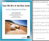Take Me Out to the Ball Game Level 1 - Cover & 1st page