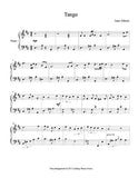 Tango in D Major Level 5 - 1st piano music sheet