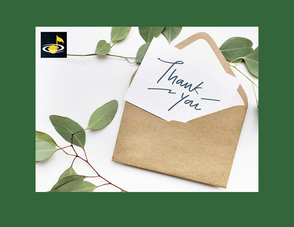 eGift Card: Thank you - from Galaxy Music Notes