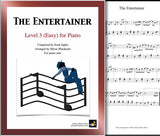 The Entertainer Level 3 - Cover sheet & 1st page
