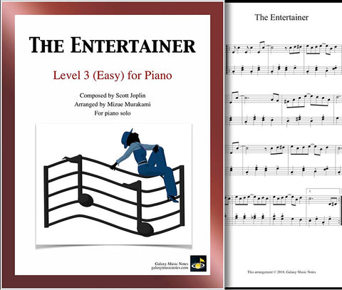 The Entertainer Level 3 - Cover sheet