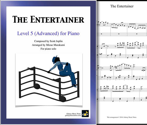 The Entertainer Level 5 - Cover sheet