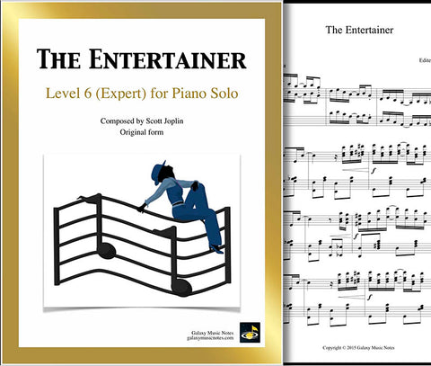 The Entertainer Level 6 - Cover sheet