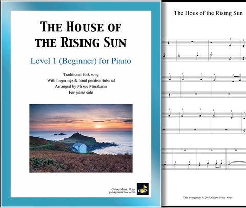 The House of the Rising Sun Level 1 cover sheet