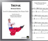 Trepak | Nutcracker | Level 4 - Cover sheet & 1st page