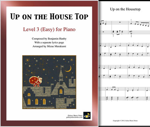 Up on the Housetop Level 3 - Cover sheet & 1st page