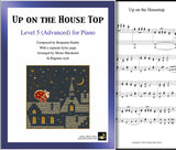 Up on the Housetop Level 5 | Ragtime | Cover & page 1