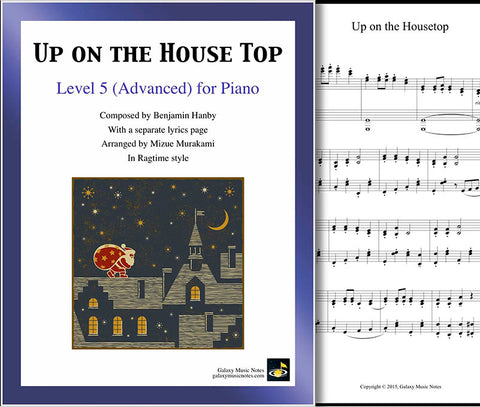 Up on the Housetop: Ragtime style - Level 5