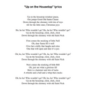 Up on the Housetop: Level 3 - lyrics page