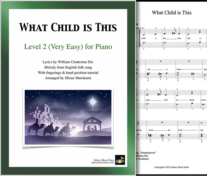 What Child is This: Level 2 - cover sheet