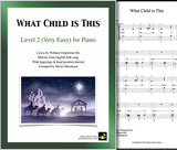 What Child is This Level 2 - Cover sheet & 1st page