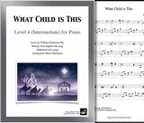 What Child is This Level 4 - Cover sheet & 1st page