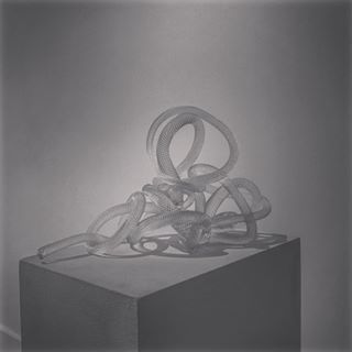 "Sculpture: Tack Series: ""Sitting Quietly Was Never Easy For Me"""