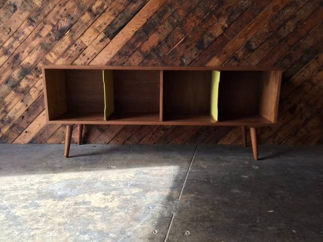 Mid Century Style Record Cabinet Credenza
