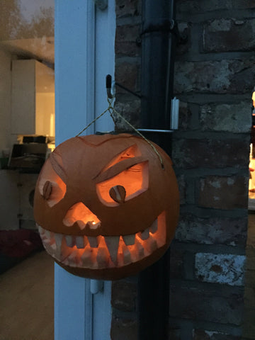 Halloween Pumpkin Hanger Hook for Drainpipe £4.99