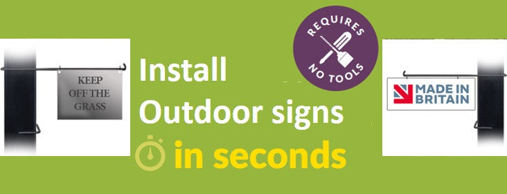 Signs from £9.99