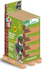 Retail Unit - FSDU containing 50 individual 3-Pack Vertical Garden Products by PotMagic - for drainpipes - £299.99