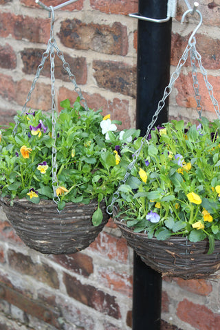 Hanging basket bracket/ bird feeder hanger - 2Pk - for drainpipes. £5.99