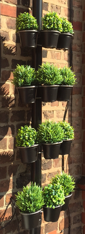 Plant Pot bracket - 12Pk - for drainpipes. £19.99