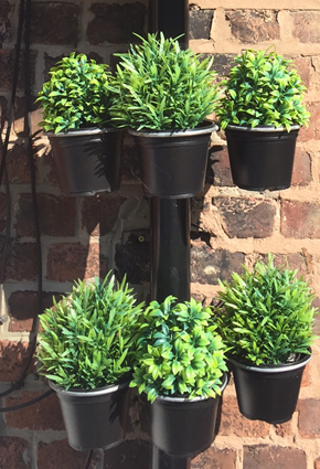 Plant Pot bracket - 6Pk - for drainpipes. £14.99