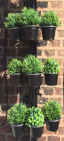 Plant Pot bracket - 9Pk - for drainpipes. £17.99