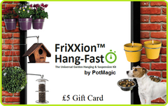 A Gift Card for Garden Products - from just £5
