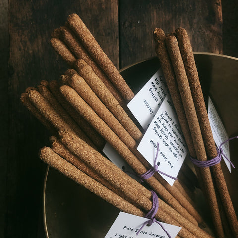 Palo Santo Hand Rolled Incense Sticks