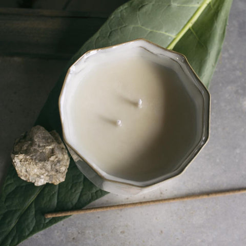 Front Porch honeysuckle and jasmine soy wax candle